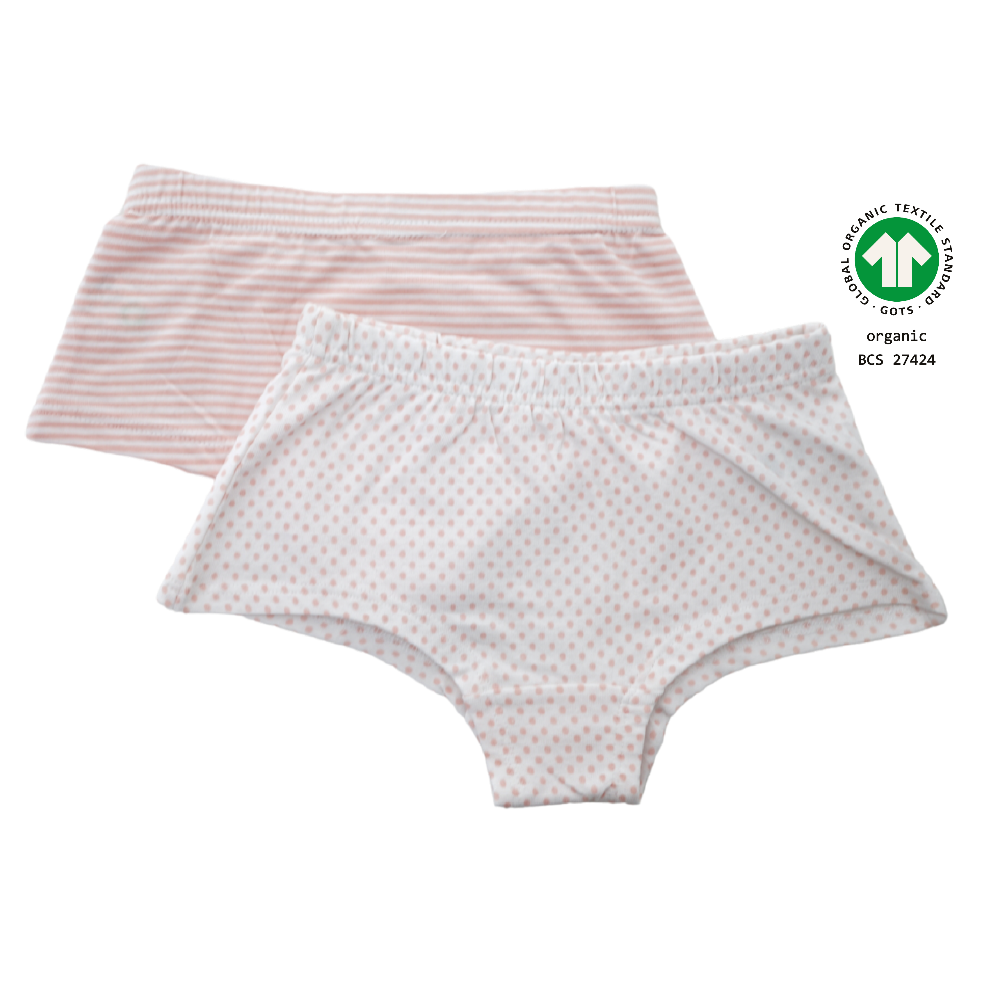 North Dept. Girl Panty - 2er Pack Bio Baumwolle