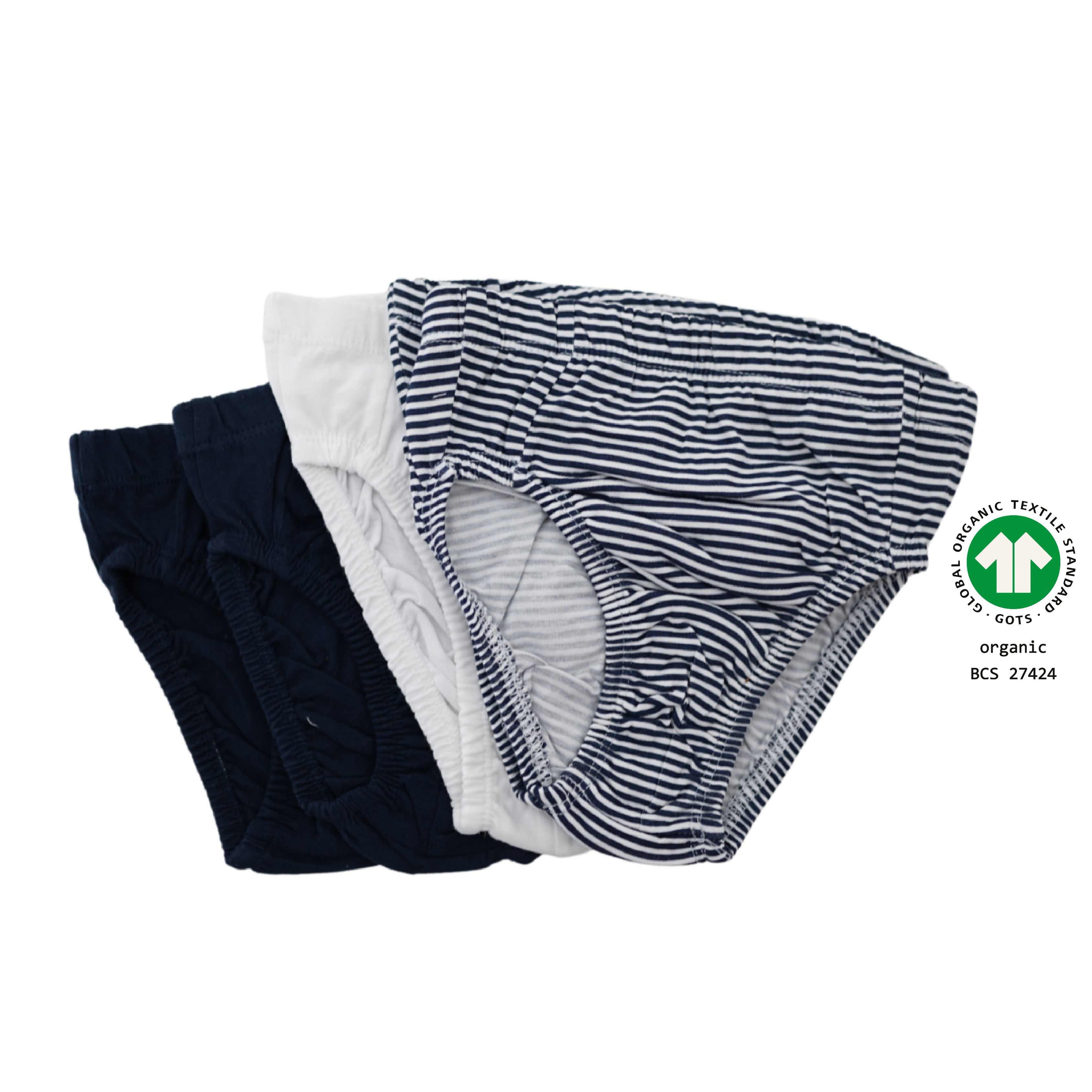North Dept. Boy Slip - 5er Pack Bio Baumwolle